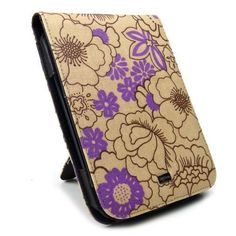 JAVOedge Poppy Flip Case for the Barnes & Noble Nook Simple Touch Reader / with GlowLight (Plum Purple) - Latest Generation by JAVOedge. $25.95. Brighten up your day with JAVOedge's Poppy Flip Case for Barnes & Noble Nook Touch Reader. The case's print canvas exterior is abloom with bright wildflowers that add a pop of color. Featuring a flip jacket, the case design offers a snug, padded fit for your Nook. The JAVOedge Poppy Flip Case includes a kickstand so it c...