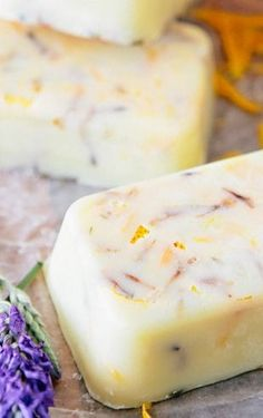 Grapefruit Lavender Soap and Coconut Mint Soap