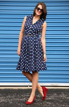 What I Wore: Red, White and Blue by What I Wore, via Flickr