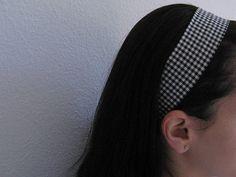 Tutorial para fazer faixa de cabelo