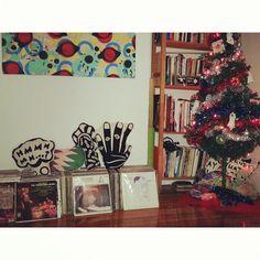 Happy Holidays! #christianjoy #christmastree #pillows