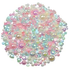 This embellishment pack contains a luscious mixture of rhinestones and pearls in lovely muted tones of Pink Blue and Cream The sparkly gems range in Shabby Chic Theme, Nail Decorations, Ornament Wreath, Ipad Case, Pink Blue, Embellishments, Card Making, Packing