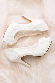 #white #lace #shoes @weddingchicks with <3 from JDzigner www.jdzigner.com