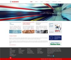 #Webdesign for Rubamin a chemicals and metals company based in India! #website #HTML