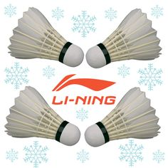 FOUR CALLING BIRDS! On the 4th day of Christmas my true love gave to me...4 calling birds! MERRY CHRISTMAS from the Li-Ning Badminton team! For the largest section of badminton birds in North America visit www.shopbadmintononline.com #AnythingIsPossible #MakeTheChange!