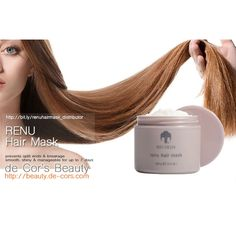 How To Buy Renu Hair Mask at Distributor Wholesale Member Price Deep Conditioning Treatment, Nu Skin, Split Ends, Smooth Hair, How To Make Hair, Damaged Hair, Stuff To Buy, Beauty, Ideas