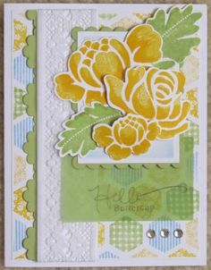 Hello Buttercup by Dalfrings - Cards and Paper Crafts at Splitcoaststampers