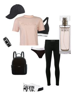 """100% ck"" by styledbysugar on Polyvore featuring Calvin Klein"