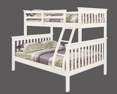 Twin over Full Mission Bunk Bed in White DONCO http://www.amazon.com/dp/B003E7RS60/ref=cm_sw_r_pi_dp_57rDub0GF54K6