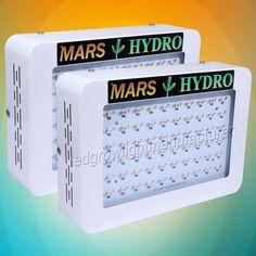 2PCS Mars Hydro 300W Led Grow Light Full Spectrum Hydroponic Veg Flower 140 Watt - http://ift.tt/2eutdz2 - #hydroponics #foodinnovation