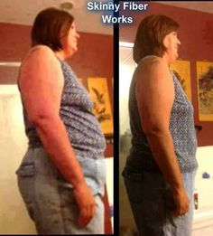 Stacy has lost 20 pounds and 22 inches with the help of skinny fiber