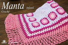 Olá vamos fazer uma manta em crochê? Aula completa aqui  https://youtu.be/9MqhqWGBZ2c #crochet #professorasimone #semprecirculo #manta #infantil