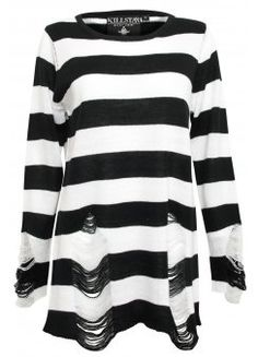 Pugsley Distressed Knit Sweater