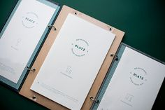 Identity design for a restaurant & cocktail bar in Bad Reichenhall, Germany