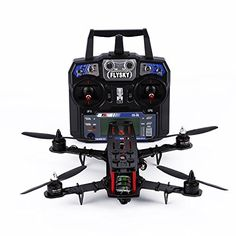 YKS Upgraded DIY 250 Quadcopter Pure Carbon Fiber Frame Kit RTF (Assembled) w/ Remote Controller + Naze 32 Flight Controller + Motor + Simonk ESC + 5040 propeller Racing Drones For Sale, Drone For Sale, Carbon Fiber, Remote, Pure Products, Mini, Arm, Plate, Gift Ideas