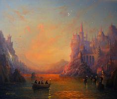 Harry Potter Painting - Hogwarts by Joe Gilronan