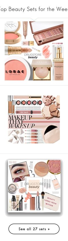"""Top Beauty Sets for the Week"" by polyvore ❤ liked on Polyvore featuring beauty, Urban Decay, LORAC, Elizabeth Arden, Stila, Mariah Carey, Birchrose + Co., Yves Saint Laurent, tarte and Deborah Lippmann"