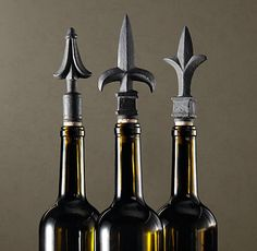 Wine stoppers. I love the look of them but seriously, they never fit in the frig.