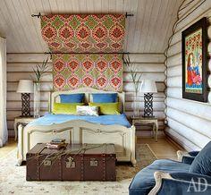 Интерьер с обложки: дом в Калужской области | AD Magazine