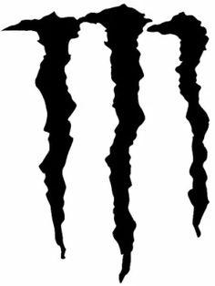 how to draw monster energy logo monster logo step 5 celtic wiccan rh pinterest com monster logo vectoriel monster logo vector cdr