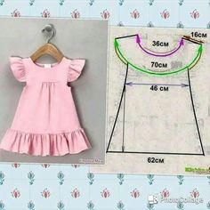 Fashion Kids Girl Dress Sew 44 Super Ideas Little Girl Dresses Dress Fashion girl ideas Kids Sew Super Girls Dresses Sewing, Sewing Baby Clothes, Little Girl Dresses, Baby Sewing, Baby Dresses, Barbie Clothes, Diy Clothes, Toddler Dress Patterns, Baby Clothes Patterns