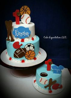 sports birthday cakes Google Search birthday cake ideas
