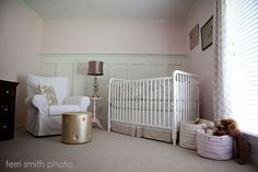 Wainscot in nursery