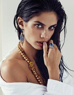 Sara by Alvaro (Vogue Espana).  December 2014.   Alvaro Beamud Cortes - Photographer.   Marina Gallo - Fashion Editor/Stylist.   Olivier Lebrun - Hair Stylist.   Luciano Chiarello - Makeup Artist.   Sara Sampaio - Model.