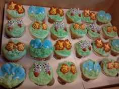 baby shower cupcakes for a twin boy and twin girl. from the, Baby shower invitation