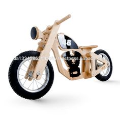 Ecofriendly Wooden No Pedals Kid Bicycle Balance Bike - Buy Bicycle Balance,Bala. Wooden Bicycle, Wood Bike, Buy Bicycle, Kids Bicycle, Wooden Toy Cars, Wood Toys, Woodworking Ideas To Sell, Balance Bike, Ride On Toys