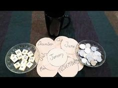 Month's and tokens ♥️new year party game ♥️fun game ♥️punctuality game ♥️