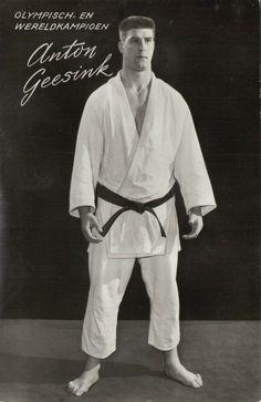 Olympic & World Champion Dutch 10th-dan Judoka ANTON GEESINK Tokyo 1964 Judo (2)