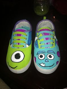 Monsters Inc shoes