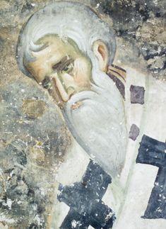 Ιεράρχης. Fresco, Byzantine Art, Sacred Art, Christian Art, Views Album, Ikon, Artwork, Painting, Beautiful