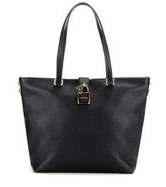 Dolce & Gabbana Dolce Shopping Leather Shoulder Bag For Spring-Summer 2017