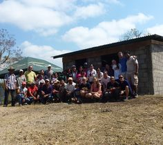 The completed house built by our students in Nicaragua over March Break!