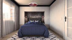 Bedroom design by Mialmi Design Bedroom, Bedroom Inspo, Bedroom Decor, Modern Contemporary, Bedrooms, Interior Design, House, Furniture, Home Decor