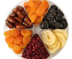 Az aszalt gyümölcsök jótékony hatásai