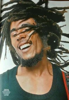 Bob Marley, 1976, by Annie Leibovitz for Rolling Stone.