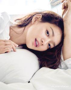 Shin Min Ah Shows Off Her Beauty in 'Marie Claire' Photoshoot Korean Makeup, Korean Beauty, Korean Actresses, Korean Actors, Shi Min Ah, Korean Face, Korean Star, Korean Girl, Choi Jin