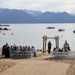 Beach and sand, you and yours...what else do you need? http://lakefrontwedding.com/lake-tahoe-wedding-venues/lake-tahoe-wedding-beach-weddings/lifes-a-beach/