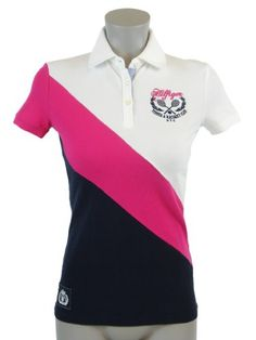 Tommy Hilfiger Slim Fit Womens Logo Polo Shirt