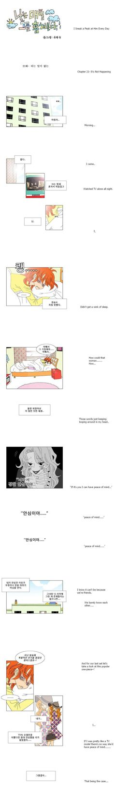 [Webtoon] I Sneak A Peak At Him Every Day 21 @ HanCinema :: The Korean Movie and Drama Database