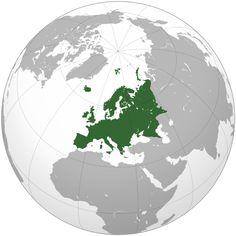 Europa > localização europeia no mapa-mundi ou globo terreste