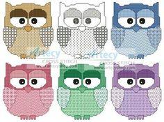 owl cross stitch patterns free | owls art design blackwork more designs by tereena clarke artsy owls ...