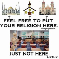 If you want your child to learn religion in school then send them to a religious school. Religion has no place in public schools.