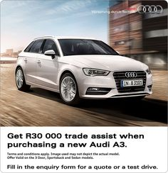 The new Audi Sportback. Its design speaks a unique language; its dynamism is impressive on every trip. Experience our lead in a vehicle that is way ahead. Used Cars Uk, Audi A3 Sportback, Used Audi, Old Classic Cars, Audi Sport, Car Finance, Audi Cars, Performance Cars, Multimedia