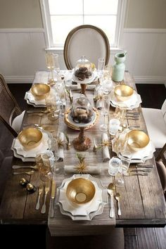 Thanksgiving table!