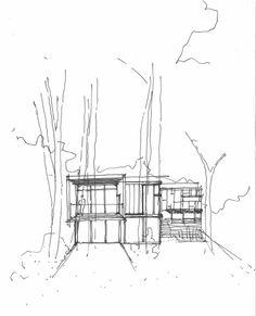 house on the bluffs/ taylor smyth architects