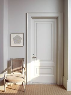 Beautiful door and inset mouldings